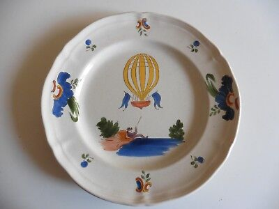 ASSIETTE montgolfiere nevers