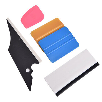 5 in 1 Car Window Film Tools Tint Squeegee Scraper Set Kit Home Tint For Ford
