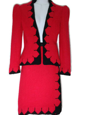 7b12e89656bf9 VINTAGE *ADOLFO* FOR Saks Fifth Avenue, Womens Suit, Jacket and Skirt -  Small. S