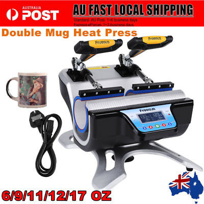ST210 6/9/11/12/17OZ Pneumatic Transfer Mug Heat Press Automatic Cup Sublimation