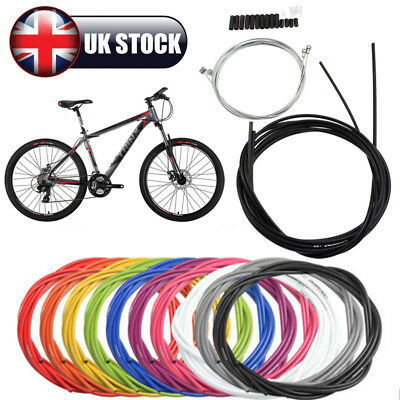 Jagwire Kit Brake + Gear Front Rear Inner Outer Cable Set MTB Bike Bicycle UK