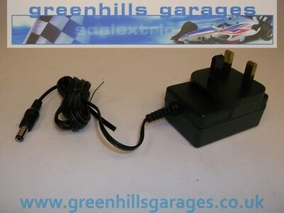 Greenhills Scalextric Transformer Power Pack Black plug-in P9000W Used MACC65
