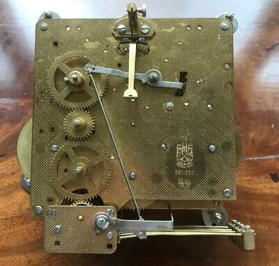Franz Hermle (1978) Westminster Chiming Clock Movement And Brackets 351-020 75cm