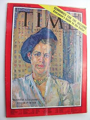 TIME MAGAZINE Nov 28 1960 Sylvia Porter Clark Gable Joan Sutherland Integration
