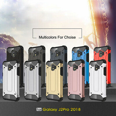 Hybrid Military 360° Shockproof Armor Case For Samsung Galaxy A8 A6+ J2 Pro 20