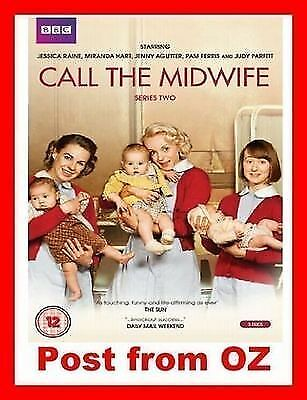Call the Midwife: Complete Series 2 -New DVD- BBC TV Season Two Jennifer Worth