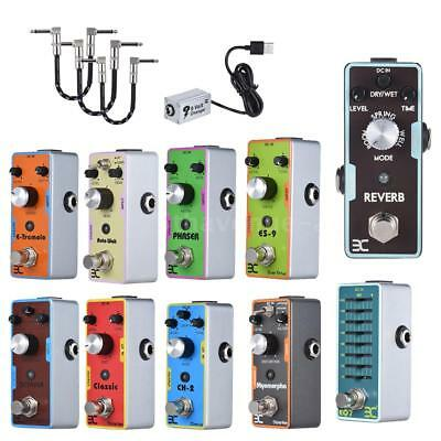 Guitar Reverb/Auto wah/distortion/overdrive/equalizer/Octave Effect Pedal O0F1