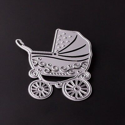 Baby Carriage Metal Cutting Dies Stencil for Scrapbooking Paper Card Album Decor
