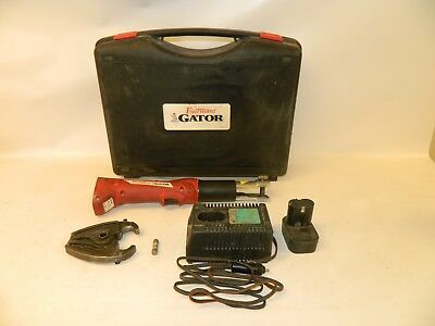 Fairmont Gator EK425 Hand Crimping Crimper Tool Hydraulic Battery Powered Cable