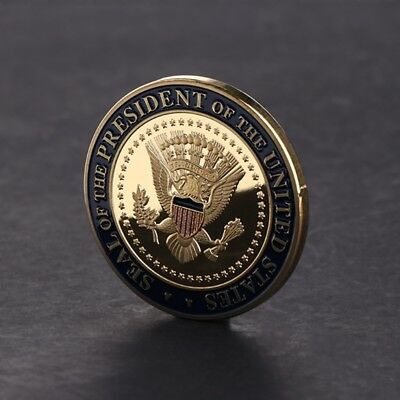 US 45th President DOnald Trump Commemorative Coin Collection Souvenir Gifts Arts