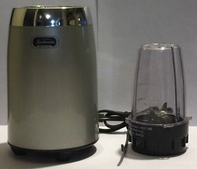 Sunbeam Heritage Series Blender Coffee Mill 2774 with 6oz Mixing Cup