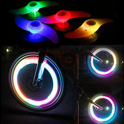 3 Mode New Bike Bicycle Cycling Spoke Wire Tire Tyre Wheel LED Bright Light Lamp