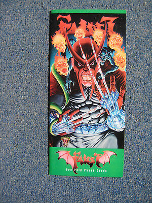 Tim Vigil Faust Phone Card Limited Set Signed '96 San Diego ~