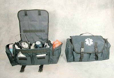 First Responder Medical Kit With Supplies ~New~Free Ship~EMS/EMT bag