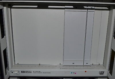 HP E1401B 13 Slot Mainframe with Power Supply *Used, Power On Tested* VXI