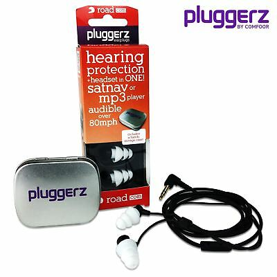 PLUGGERZ Ear Plugs ROAD-COM Road Coms Earplugs Headset