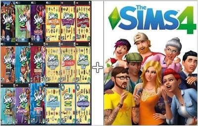 SALE The Sims 4 + Sims 2 Ultimate Collection <every expansion!> BUNDLE (PC/Mac)