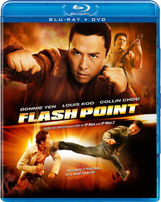 Flash Point [2 Discs] [Blu-ray/DVD] (Blu-ray Used Like New) BLU-RAY