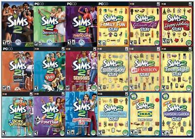 EASTER SALE The Sims 2 Ultimate Collection <every expansion!>(PC) Region Free