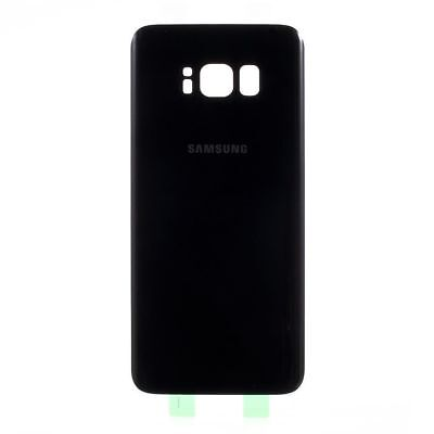 GENUINE SAMSUNG GALAXY S8 Plus BACK REAR GLASS BATTERY BACK DOOR COVER BLACK