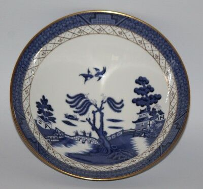 """Royal Doulton - Booths Real Old Willow, TC 1126 - 8 3/4"""" Footed Vegetable Bowl"""