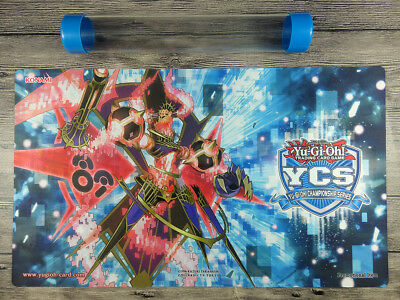 YuGiOh Number 89: Diablosis the Mind Hacker YCS Playmat TCG Mat Free Best Tube