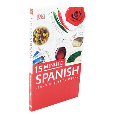 15-Minute Spanish - Learn In Just 12 Weeks (Paperback), Non Fiction Books, New