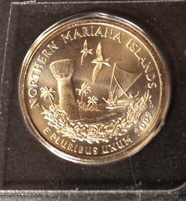 2009 D Northern Mariana Islands - US Territories Satin Quarter VERY LOW MINTAGE