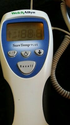 Welch Allyn 692 Sure Temp Plus Thermometer with probe