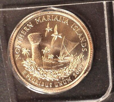 2009 P Northern Mariana Islands - US Territories Satin Quarter VERY LOW MINTAGE