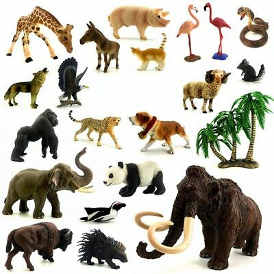 4D Realistic Wild Animal Wildlife Model Puzzle Educational Toy Children's Gift