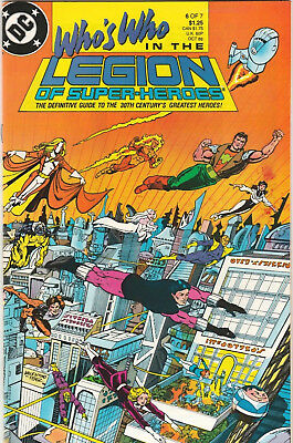 Who's Who in the Legion of Super-Heroes #6 FN/VF 1988 DC Comics Guidebook