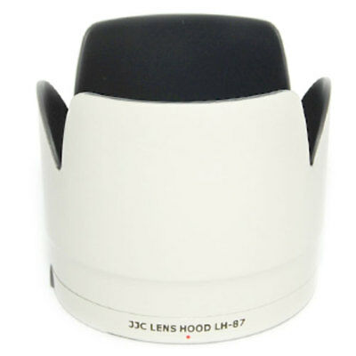 Pro Replacement Lens Hood ET-87  For Canon 70-200mm 2.8 L IS II USM White  ET87