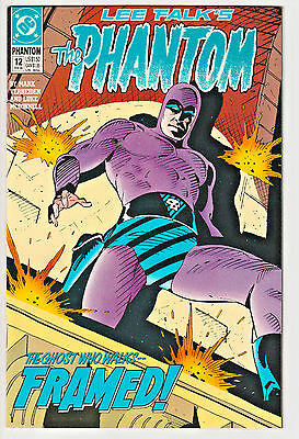 The Phantom #12 NM 1990 DC Comics low print run Lee Falk's Mark Verheiden rare