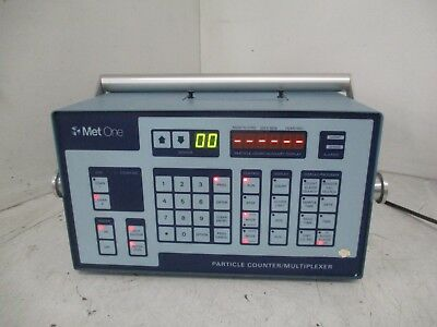 Met One 203-115 204513-1 (G) Particle Counter / Multiplexer T4-A5