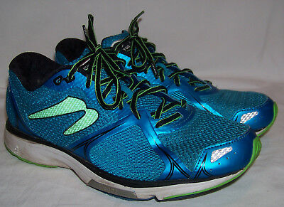 Mens Newton Fate II Blue Running Shoes Size 10 (M011516B)