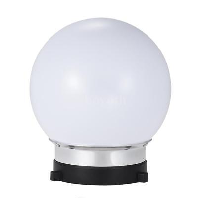 7inch Spherical Monolight Diffuser Ball with Bowens S-type Mount for Studio C9K0