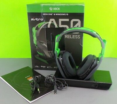 Used Astro A50 Edition For Xbox One and Windows 10 /works w/ Issue #XbPc