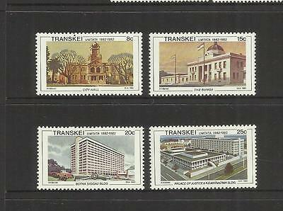 Rsa Transkei Homeland (South Africa) ~ 1982 Cent. Of Umtata (Mint Set Mh)