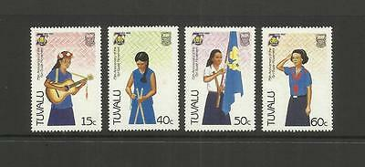 TUVALU (ELLICE ISLANDS) ~ 1985 GIRL GUIDE MOVEMENT 75th ANNIV.