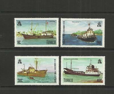 Tuvalu (Ellice Islands) ~ 1978 Inter-Island  Ships