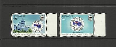 Tuvalu (Ellice Islands) ~ 1984  Ausipex & South Pacific Forum