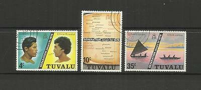 Tuvalu (Ellice Islands) ~ 1976 Separation (Cto Set)