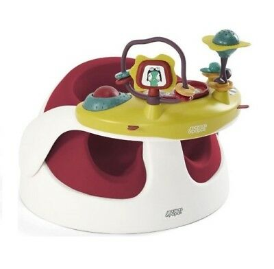 Mamas & Papas Baby Snug infant positioning seat with Activity Toy in Red
