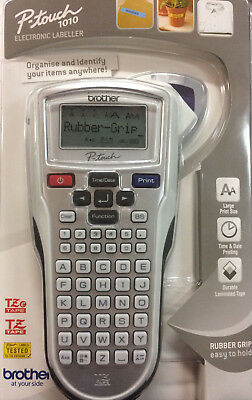 Brother P-Touch 1010 Label Printer Electronic Labeller includes TZe Starter Tape