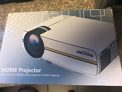 OpneBox Meyoung TC80 LED Mini Projector, Home Theater LCD HD Movie Video Project