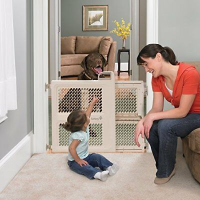 OpenBox Safety 1st Pressure Mount Lift, Lock and Swing Gate, Fits Spaces Between