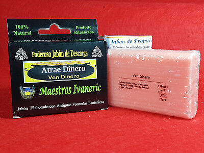 """VEN DINERO"" JABON ESOTERICO 70gr / ""ATTRACT MONEY"" ESOTERIC SOAP PURPOSE RITUAL"