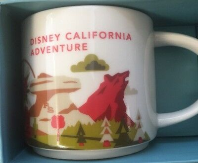 Disney Parks Starbucks California Adventure You Are Here Mug New Disneyland