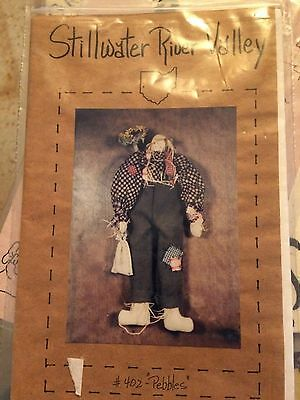 PEBBLES THE SCARECROW Sewing Craft From Stillwater River Valley #402 ...